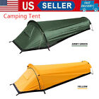 Portable Hiking Tent Backpacking Camping Tent Outdoor Sleeping Bag Tent USA R4F4