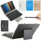 For iPad Air/Air 2 9.7inch Universal Leather Wireless Keyboard Folio Case Cover