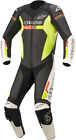 Alpinestars GP Force Chaser 1-Piece Leather Suit BLACK WHITE YELLOW RED