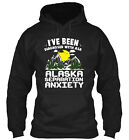 Alaska Separation Anxiety Classic Pullover Hoodie - Poly/Cotton Blend