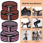 Fabric Resistance Bands Heavy Duty Non Slip Hip Circle Glute Leg Booty Band Set