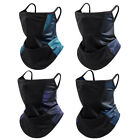 Neck Gaiter Face Mask Cover with Loops Ear Hangers Non-Slip Breathable Balaclava