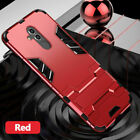For Huawei Mate 8 9 10 20 Lite Hybrid Rugged Armor Shockproof Case Stand Cover