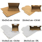 50 Royal Mail PIP CHEAPEST Large Letter Box Cardboard Postal Post Mailing C4 C5