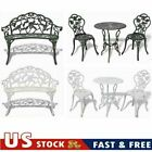 Us Garden Bistro Table And Chairs Set Cast Aluminium Outdoor Furniture Park