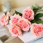 Rose Artifical Flowers Wedding Party Home Bouquet Decor Real Latex Touch 20/10pc