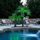 Realistic Led Palm Tree Outdoor Tropical Paradise Light Display Yard Pool Pond