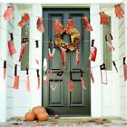 Halloween Banner Bloody Garland Party Decorations Supplies Halloween Party