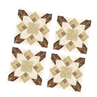 Pack 40 Home Decoration Self Adhesive Wall Sticker, Modern Tiles 3.15x3.15
