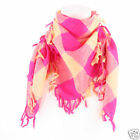 Ladies Large Check Fashion Scarf/Shawl/Wrap  4 Colours