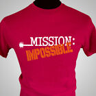 MISSION IMPOSSIBLE RETRO TV T SHIRT ORIGINAL CULT TV SHOW