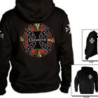 Choppers bikers Hoodie Crossed Bones retro emo new