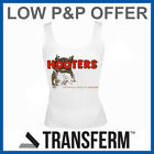 HOOTERS T-SHIRT VEST TOP ALL SIZES NEW 8 10 12 14 16 18