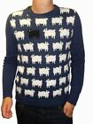MENS black sheep 80s jumper vtg indie retro xs s m l xl