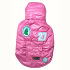 931 4S~M Pink Super Thick Hooded Parka Coat/Dog Clothes