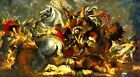 Rubens Victory and death of the Consul  - Giclee Canvas