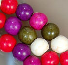 4mm Colorful Turquoise Round Beads 15""