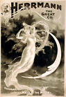 Vintage POSTER.The Maid of The MOON.Angel Art Decor.Home Interior design.1159