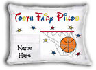 Boys Personalized Tooth Fairy Pillow - With Pocket