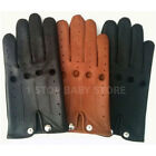 TOP QUALITY REAL SOFT COMFORT PRIME LEATHER  CHAUFFEUR MENS DRIVING GLOVES -D504