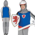 KNIGHT BOYS ST GEORGE'S BLUE COSTUME FANCY DRESS SCHOOL SMALL, MEDIUM, LARGE