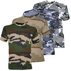 TEE SHIRT MILITAIRE ARMEE CAMOUFLAGE CHASSE PAINTBALL