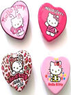 YUMMY HELLO KITTY HEART TIN FLAVOUR LIP GLOSS BALM Pink/Strawberry/Cherry