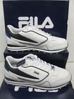 "FILA Gents Trainers Wht/Navy/Royal ""BLAZE LACE"""