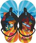 REEF BOYS SANDALS FLIP FLOPS GROM HT BK MULTI