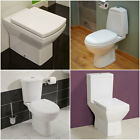 Modern Luxury Ceramic Bathroom Close Coupled Toilet + Cistern + Soft Close Seat