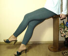 Dark Grey Leggings Full Length,All Size Variations - HQ