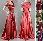 Womens Ladies Long Evening Dress Stage Costume 2 ~ 12 ON SALE #GF755