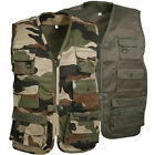 GILET REPORTER ENFANT NATURE OUTDOOR CAMOUFLAGE PECHE