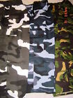 MENS CAMO COMBAT ARMY 3/4 BOTTOMS  TROUSERS  ALL  SIZES