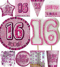 PINK GLITZ 16TH BIRTHDAY PARTY ITEMS EVERYTHING UNDER ONE LISTING
