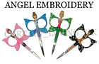 Angel Designed Embroidery Scissors And Cross Stitch Sewing 4 Colours Free Post!