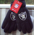 NWT Oakland RAIDERS Winter Black Gloves WoW! Thinsulate Toddler Reebok On Field $17.5 USD on eBay