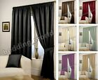 LUXURIOUS READY MADE LINED PENCIL PLEAT WAFFLE EFFECT CURTAINS 66/90 x 54/72/90