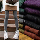 Women Ladies Fashion Winter Warm Pantyhose Tights Colors Warm Cotton Stockings Z