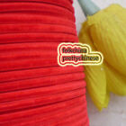 "3mm 1/8"" Red Velvet Ribbons Craft Sewing Trimming Scrapbooking #45"