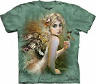 TOUCH OF GOLD -Green T-Shirt - The Mountain-Tie Dyed Tee-Fairy -10-3203