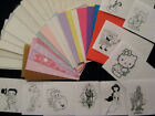 COOL CARDZ  REFILL  25 POUCHES + NEW PRINTED INSERTS****FAB***FAB***FAB