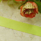 50 Yards Grosgrain Ribbons Sewing Scrapbooking Craft 6mm,10mm,15mm #113