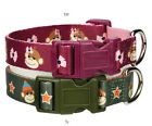 Monkey Business Dog Collar Collars  East Side Collection Pet pink green