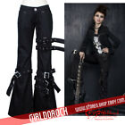 PUNK NEW! ROCK FRAG BUCKLE BONDAGE PANTS K016 S-XXL