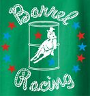 Barrel Racing Stars Rodeo Horse and Rider T-Shirt Multiple Colors