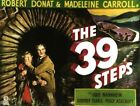 Vintage Old Movie Poster The 39 Steps 1935 Print Art Canvas A4 A3 A2 A1