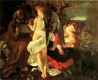 CARAVAGGIO'S REST ON THE FLIGHT INTO EGYPT REPRO Art Print A4 A3 A2 A1