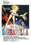 BARBARELLA 5 B-MOVIE REPRODUCTION ART PRINT A4 A3 A2 A1
