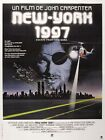 ESCAPE FROM NEW YORK 5 B-MOVIE REPRODUCTION ART PRINT A4 A3 A2 A1
